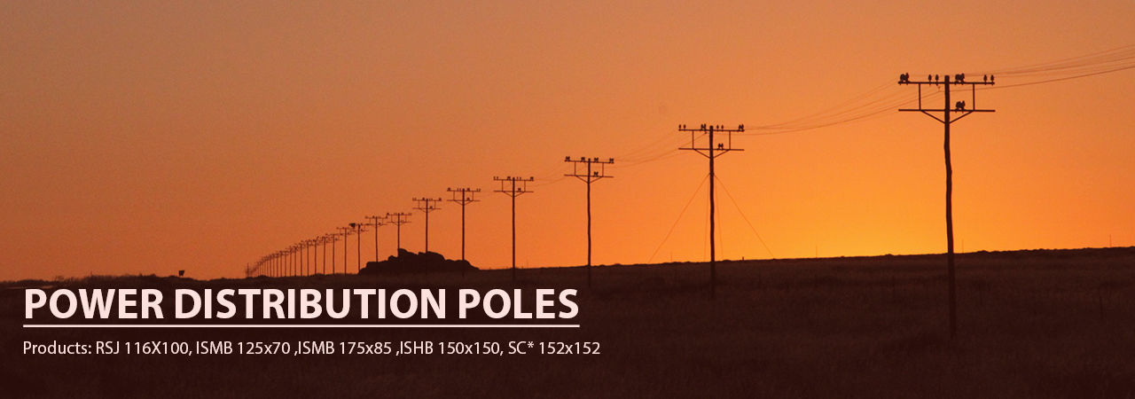 Power Distribution Poles Manufacturer | Bhartiya Alloys & Steelcast
