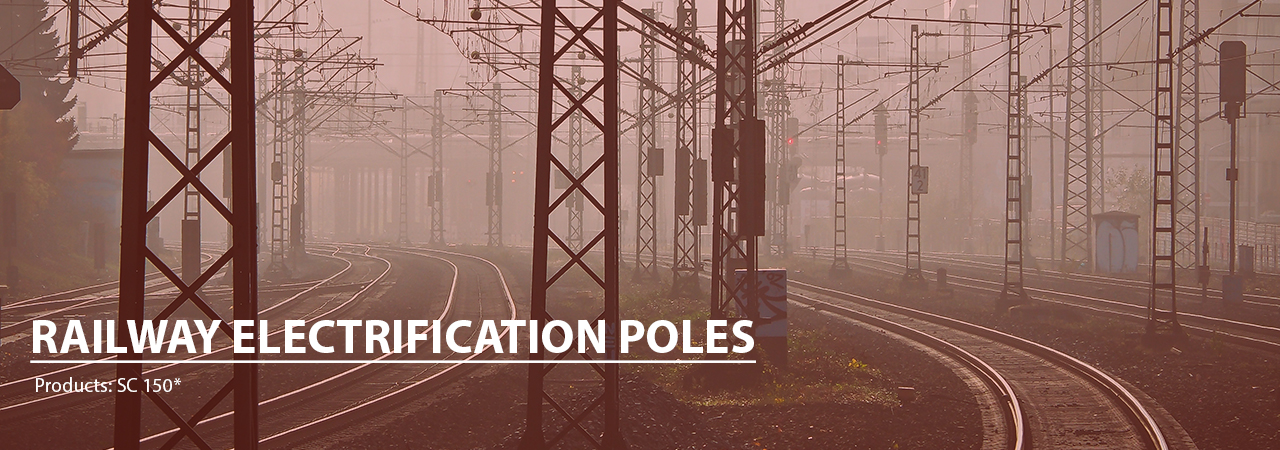 Railway Electrification Poles Manufacturer | Bhartiya Alloys & Steelcast