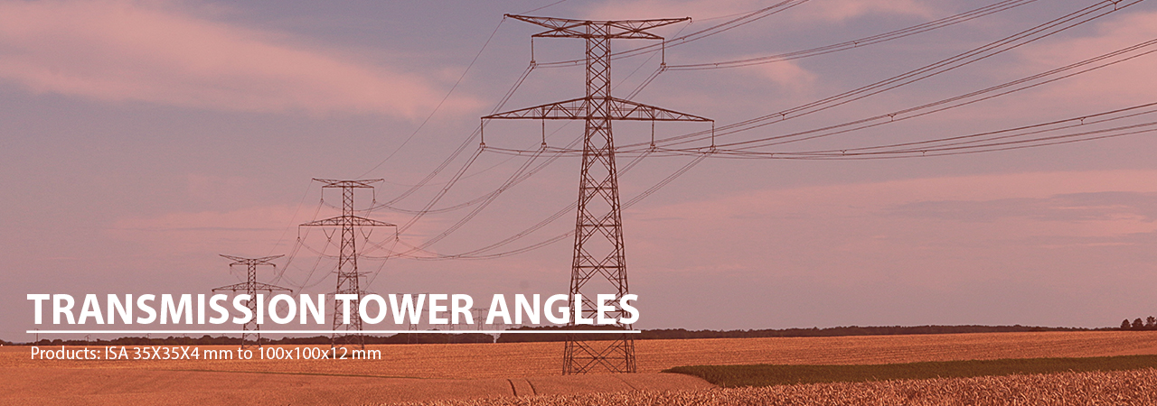 Transmission Tower Angles Manufacturer | Bhartiya Alloys & Steelcast